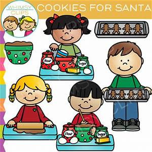 Cookies for Christmas Clip Art by Whimsy Clips   TpT
