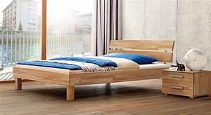 Www Denische Betten De : schlichtes einzelbett aus massivholz mit kopfteil amerigo ~ Bigdaddyawards.com Haus und Dekorationen