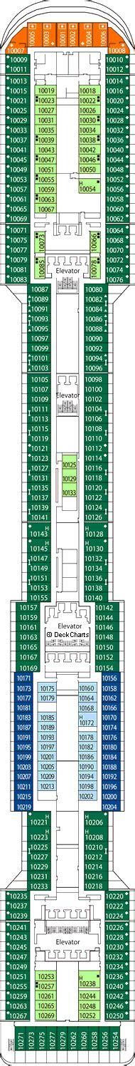 Msc Divina Deck Plan 12 by Msc Divina Deck 10 Giunone Deck Cruise Critic