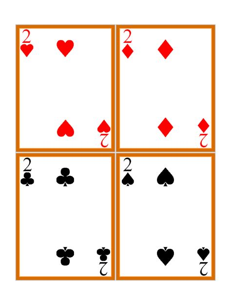 Check spelling or type a new query. 7 Best Images of Playing Card Printable Templates - Playing Card Template, Blank Playing Card ...