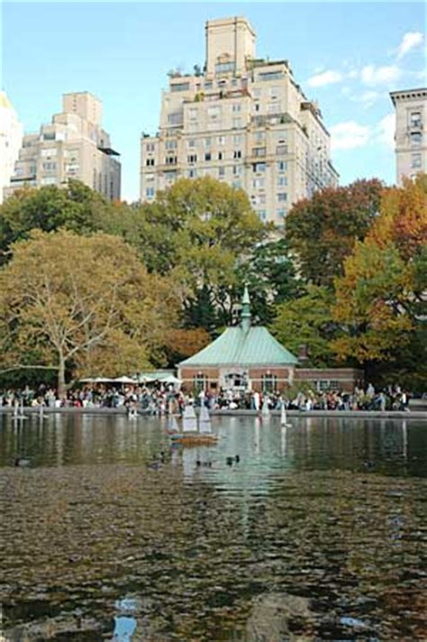 Central Park Boat Club by Boat Pond Conservatory Water Central Park Manhattan