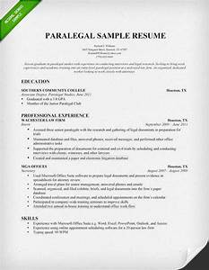 paralegal resume sample writing guide resume genius With legal writing sample for paralegal