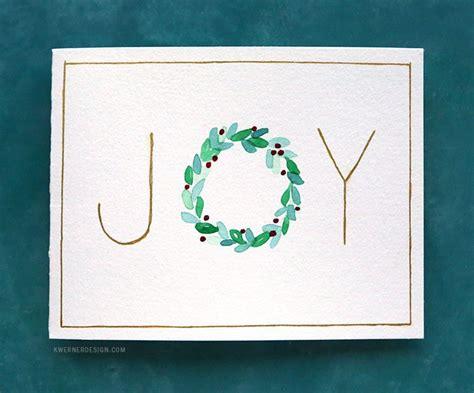 easy diy christmas cards  minute card ideas
