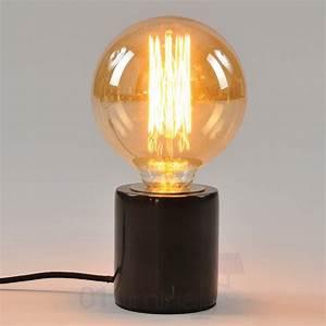 Lampe A Poser : lampe a poser filament ~ Nature-et-papiers.com Idées de Décoration