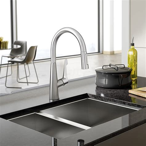 Hansgrohe Talis M Pull Down Kitchen Faucet  Ebay