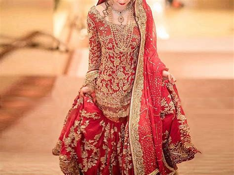 Wedding Dresses Pakistani : Popular Styles Of Pakistani Bridal Dresses