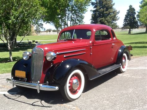1936 Chevrolet Master Deluxe 2 Door Coupe 174459