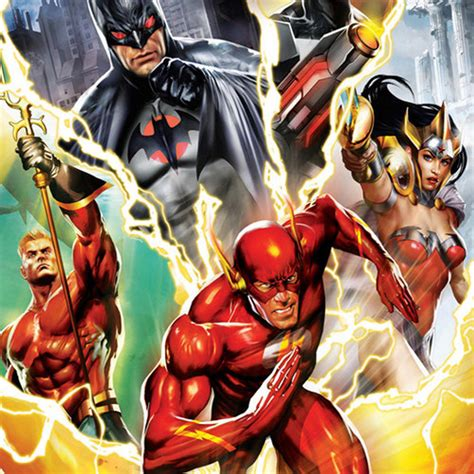 justice league  flashpoint paradox blu ray  dvd