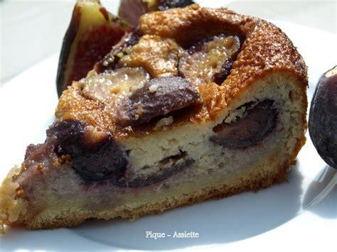 recette dessert aux figues fraiches g 194 teau fond brioch 201 aux figues fra 206 ches pique assiette