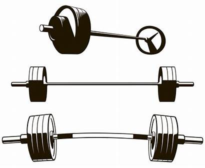 Barbell Powerlifting Silhouette Weights Svg Vector Gym