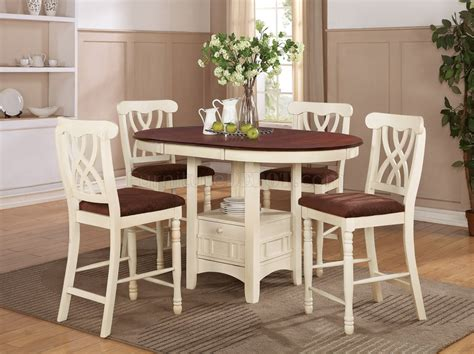 addison pc counter height dining set  coaster