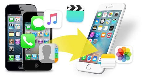 transfer all data to new iphone how to transfer contacts photos from iphone to