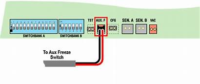 Freeze Aux Switch System J15 Auxiliary Connector