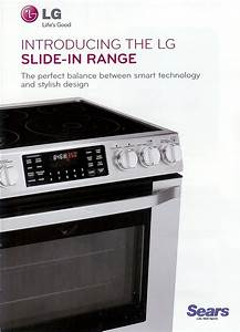 Appliance Information  Lg Slide