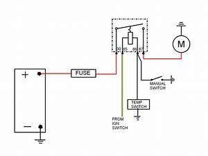 Cooling Fan Switch Wiring Diagram