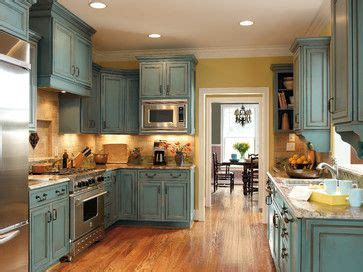 yellow accents teal and traditional kitchens on pinterest