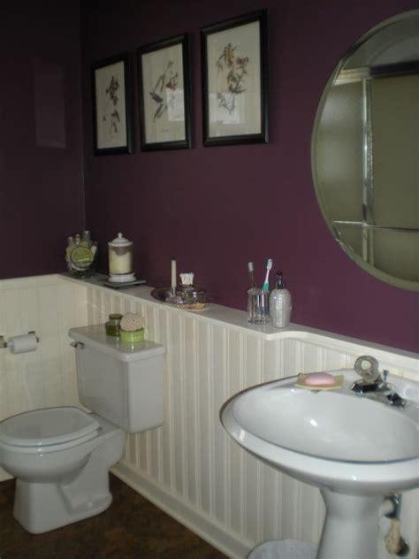 Purple Color Bathroom by Purple Bathroom Purple Interiors Plum