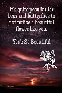 You are So Beautiful Quotes for Her – 50 Romantic Beauty ...