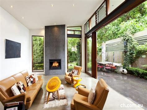 Inside Outside Living Room Ideas by Courtyards