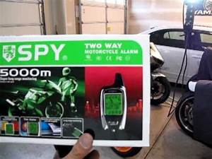 Spy 5000m Two Way Alarm With Remote Start
