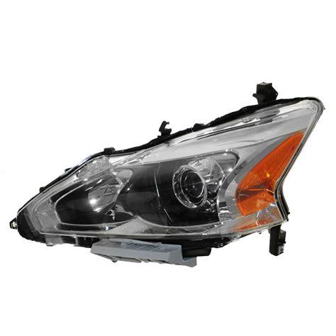2013 nissan altima 2 5 halogen headlight bulb replacement