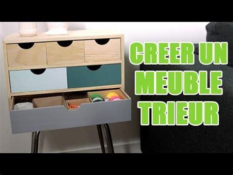 trieur bureau tuto diy réaliser un meuble de rangement customisé avec