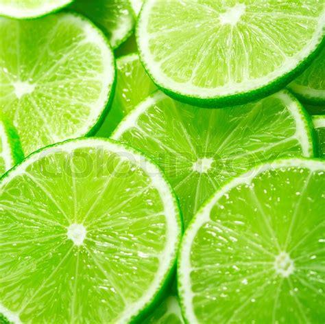 Lime Slices  Stock Photo Colourbox