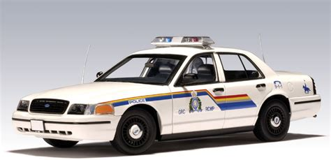 Ford Crown Victoria Police Car Royal Canadian