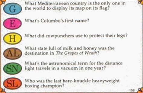 trivial pursuit modern questions columbo s secret name landed trivial pursuit in a 300 million lawsuit
