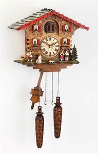 Ebay Deutschland Berlin : quartz cuckoo clock classical alpin chalet made in germany black forest ebay ~ Heinz-duthel.com Haus und Dekorationen