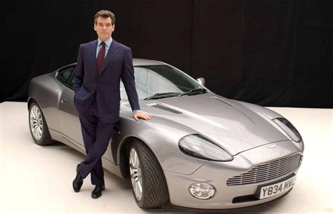 Brosnan Car by Brosnan With The Infamous Bond Car