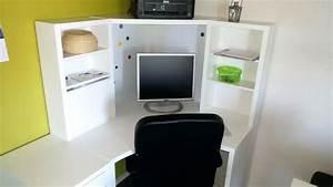 Weißer Schreibtisch Ikea : ikea eckschreibtisch weiss ~ Orissabook.com Haus und Dekorationen