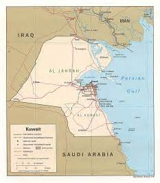 NationMaster - Maps of Kuwait (12 in total)