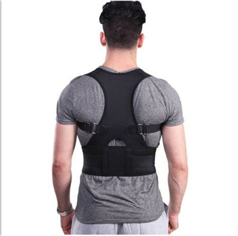 Adjustable Back Brace Posture Corrector Back Support ...