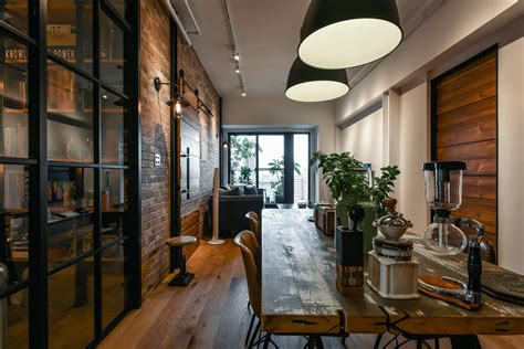 charming industrial loft   taipei city idesignarch interior design architecture