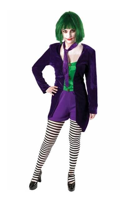 Costume Psychopath Fancy Joker Female Halloween Costumes