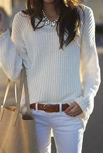 How To Wear White Jeans in Fall u0026 Winter | The Jeans Blog