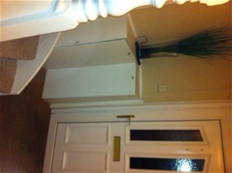 build corner cabinet  hide electric  gas meters