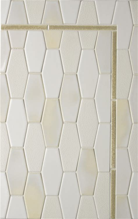 elongated hex tile elongated hex tile eclectic tile los angeles by filmore clark
