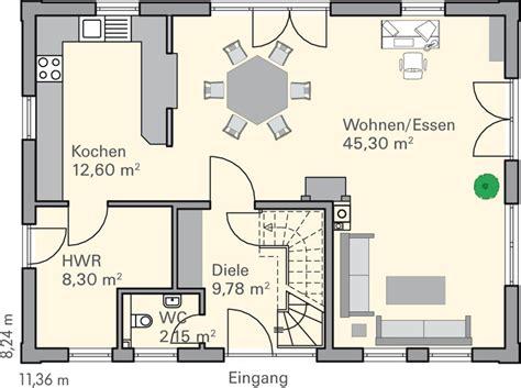 Grundriss Einfamilienhaus Modern