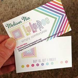 1000 images about lularoe business cards on pinterest for Examples of lularoe business cards