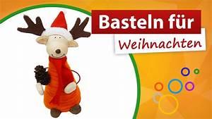 Dekorationsvorschläge Für Weihnachten : basteln f r weihnachten tollen elch basteln youtube ~ Lizthompson.info Haus und Dekorationen