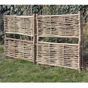 Bordure De Jardin Bois : emejing bordure jardin noisetier ideas design trends ~ Premium-room.com Idées de Décoration