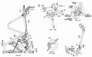 Stairmaster Model 4600pt Stepper Genuine Parts