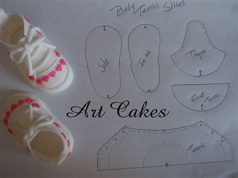 baby tennis shoes template flickr photo sharing