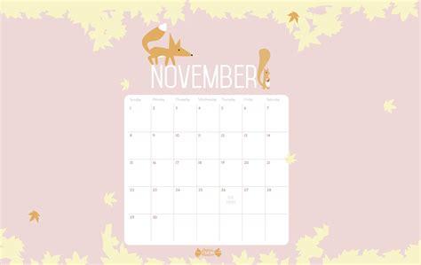 november calendar printable papier bonbon