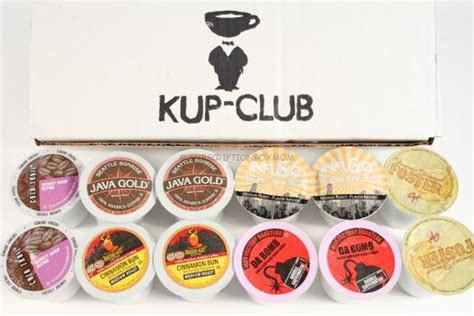 The box arrives the first week of the month as. Kup Club January 2016 K-Cup Subscription Box Review + Exclusive Coupon - Subscription Box Mom