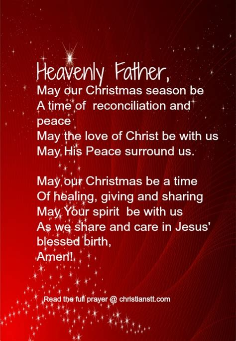 a christmas prayer the true spirit of christmas