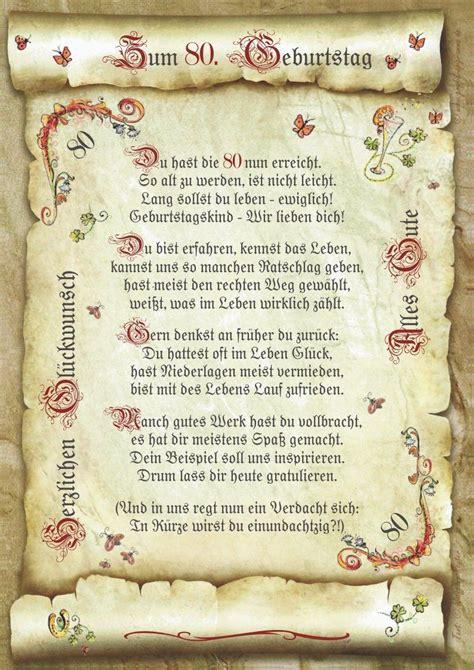 geschenk  geburtstag gedicht praesent jubilaeum