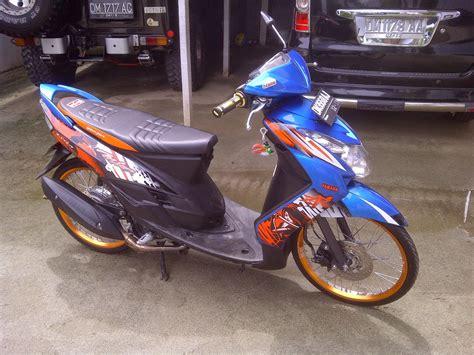 Gambar Modifikasi Mio Sporty Velg 17 by Yamaha Mio Fino Modifikasi Velg 17 Thecitycyclist
